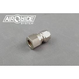 """Brass Fitting for hardline 10mm - 1/4"""" external"""