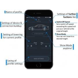Moduł do kontroli seryjnego zawieszenia Audi