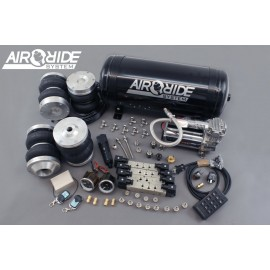 air-ride PRO kit VIP 4-way - BMW E30 with shocks