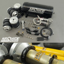 air-ride BEST PRICE kit F/R - Audi A4 B5 fwd with shocks