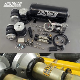air-ride PRO kit F/R - VW Golf 3 / Vento with shocks