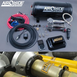 air-ride PRO kit VIP 4-way - Audi A6 C7 / Audi A7 with shocks