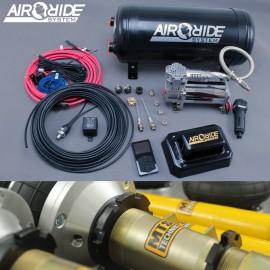air-ride PREMIUM kit 4-way - BMW E90 E91 E92 with shocks